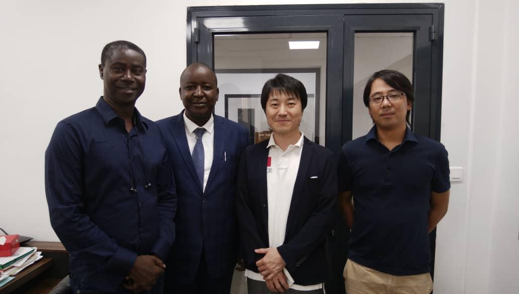 Visite de Fujitsu a diamniadio
